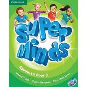Super Minds Level 2, Student's Book with DVD-ROM - Herbert Puchta