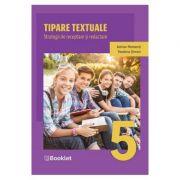 Tipare textuale. Strategii de receptare si redactare - Clasa a 5-a - Adrian Romonti