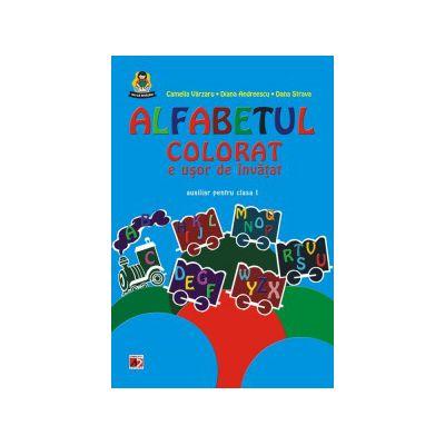 Alfabetul colorat e usor de invatat.Auxiliar pentru clasa I