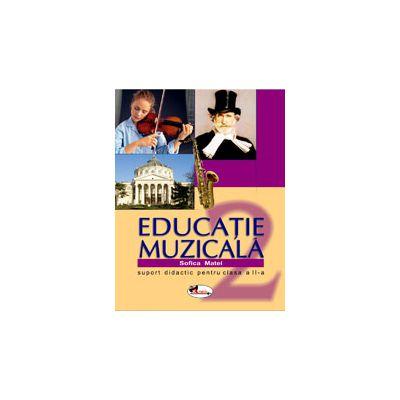 Educatie muzicala - Suport didactic pentru clasa a II - a
