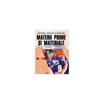 Materii Prime si Materiale - Manual pentru clasa a IX-a - Filiera tehnologica