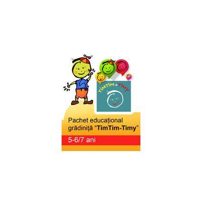 Pachet educational pentru gradinita 'TimTim-Timy' ( 5-6/7ani )