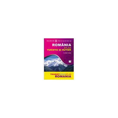 Romania - Atlas turistic si rutier