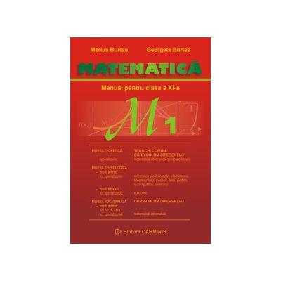 Matematica - Manual pentru clasa a XI-a