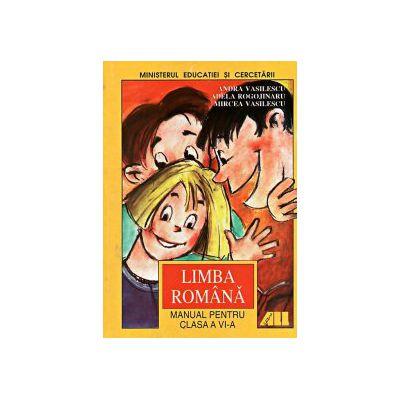 Limba romana - Manual pentru clasa a VI-a