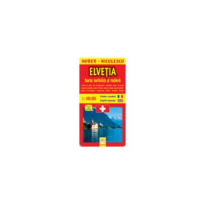 Elvetia - Harta turistica si rutiera