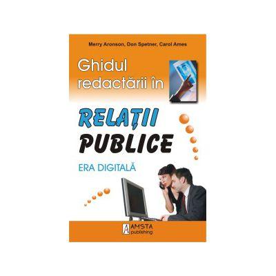 Ghidul redactarii in Relatii Publice