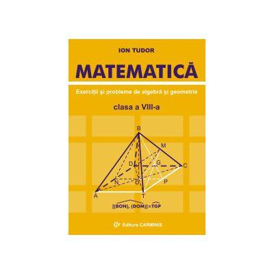 Matematica - Exercitii si probleme de algebra si geometrie - Clasa a VIII-a