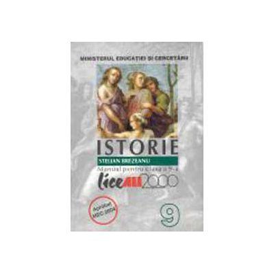 Istorie - Manual pentru clasa a IX-a