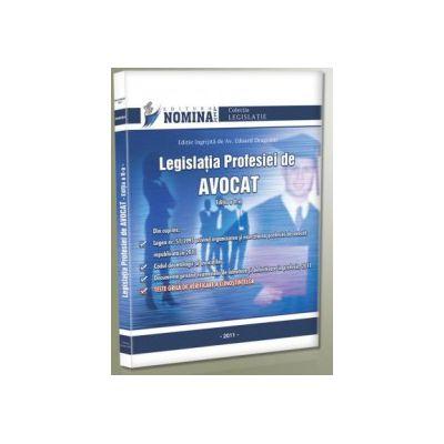 Legislatia profesiei de avocat - 2011 - cu 100 de intrebari tip teste grila
