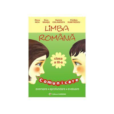 Limba romana - Clasa a III-a - Comunicare