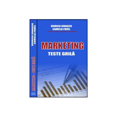 Marketing - Teste Grilă