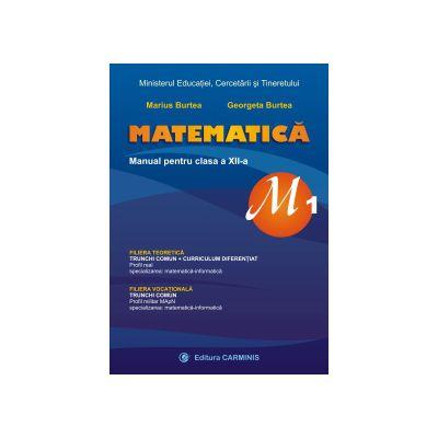 Matematica, M1 - Manual pentru clasa a XII-a