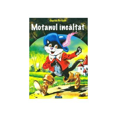 Motanul incaltat - Carte Ilustrata + Poveste