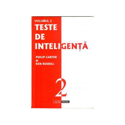 Teste de Inteligenta - Vol. 2