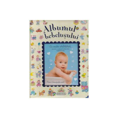 Albumul bebelusului - albastru
