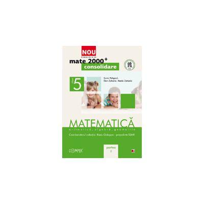 Mate 2000 pentru clasa a V-a. Partea I - CONSOLIDARE. Matematica, aritmetica, algebra, geometrie