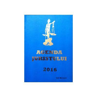 Agenda juristului 2016 (format mare)