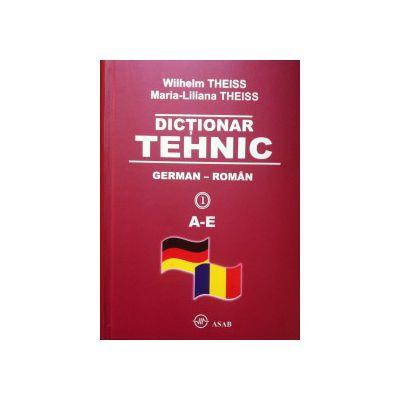 Dictionar tehnic German - Roman (4 vol.)