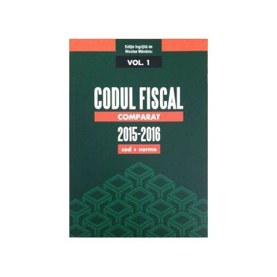 Codul Fiscal Comparat (cod+norme) 2015-2016 - 3 vol.
