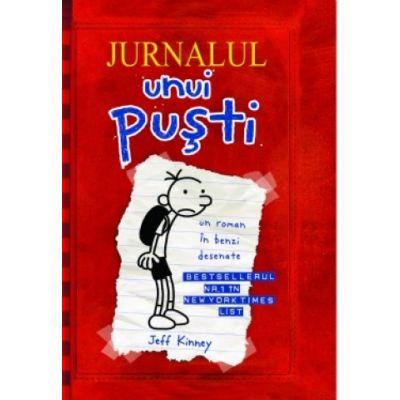 Jurnalul unui pusti. Volumul 1 - Un roman in benzi desenate (editie brosata)