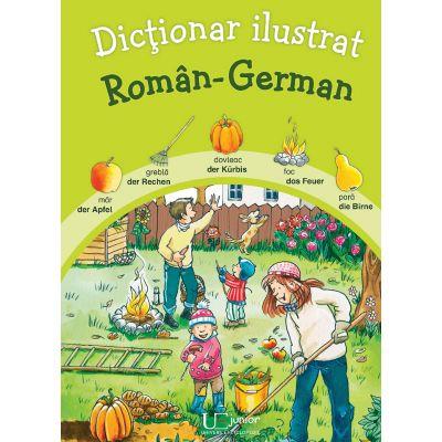 Dictionar ilustrat Roman - German (Katharina Wieker)
