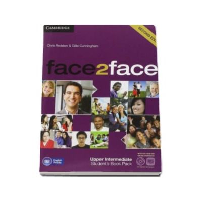 Face2Face Upper Intermediate 2nd Edition Students Book with DVD-ROM and Online Workbook Pack - Manualul elevului pentru clasa a XII-a L2 (Contine DVD)
