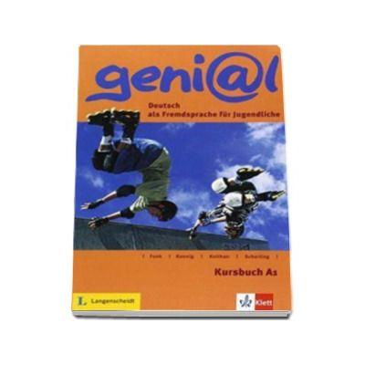 Genial Kursbuch A1 - Deutsch als Fremdsprache fur Jugendliche
