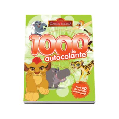Garda felina. 1000 de autocolante - Peste 60 de activitati antrenante