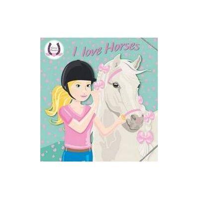 I Love Horses (verde) - Horses Passion