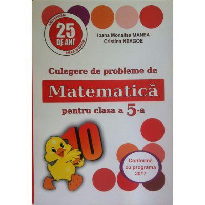 Culegere de probleme. Matematica pentru clasa a V-a (PUISORUL)