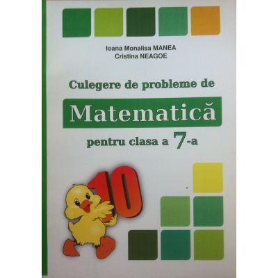 Culegere de probleme. Matematica pentru clasa a VII-a (PUISORUL)