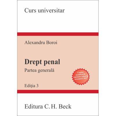 Drept penal. Partea generala. Conform noului Cod penal (Alexandru Boroi)