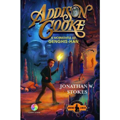 Addison Cooke si mormantul lui Genghis-Han