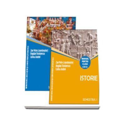 Istorie manual pentru clasa a IV-a, semestrul I si semestrul al II-lea (Contine editia digitala) - Zoe Petre