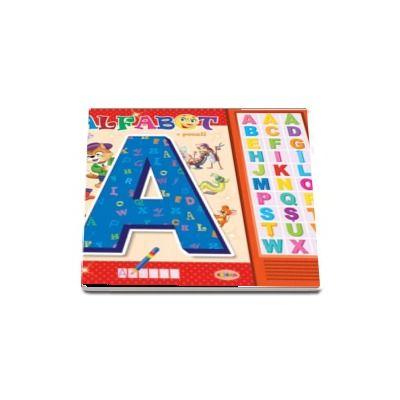 Carte cu sunete - Alfabet (Romana si Engleza)