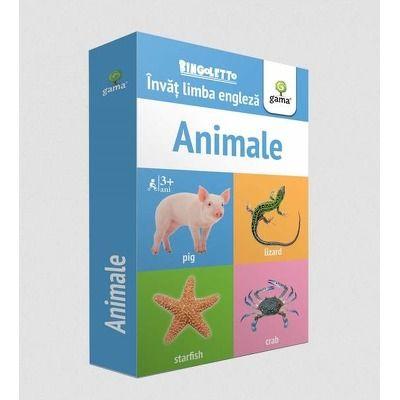 Invat limba engleza - Animale (Carduri)