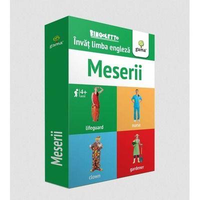 Invat limba engleza - Meserii (Carduri)