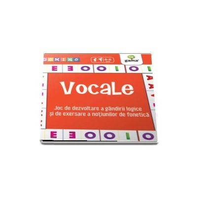 Vocale - Joc de dezvoltare a gandirii logice si de exersare a notiunilor de fonetica (Colectia Domino 4-6 ani)