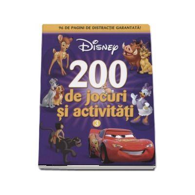 200 de jocuri si activitati - 96 de pagini de distractie garantata!