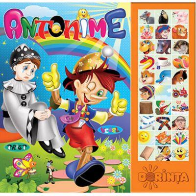 Antonime (Carte cu sunete)