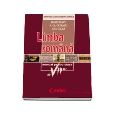 Limba romana, manual pentru clasa a VII-a (Marin Iancu)