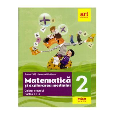 Matematica și explorarea mediului. Caiet de lucru. Clasa a II-a. Partea a II-a