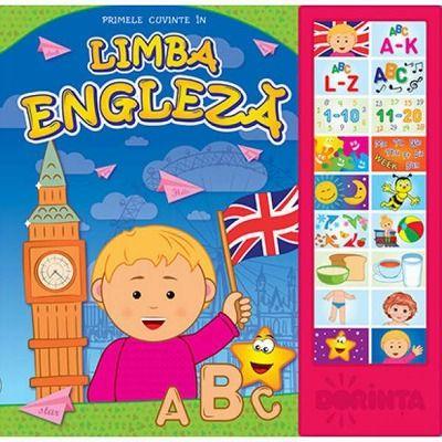 Primele cuvinte in limba engleza - Carte cu sunete