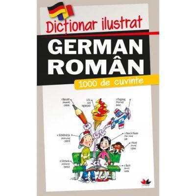 Dictionar ilustrat german-roman - 1000 de cuvinte