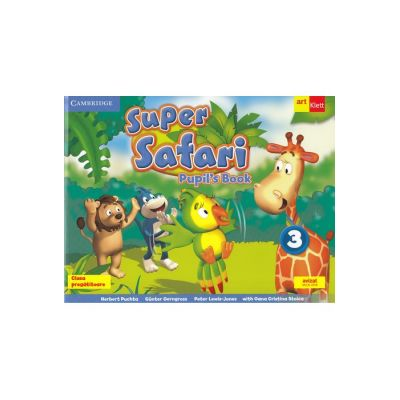 Super Safari. Pupil's Book. Limba Engleză. Clasa pregătitoare