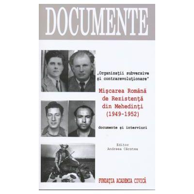Miscarea Romana de Rezistenta din Mehedinti (1949-1952)