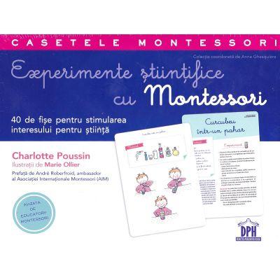 Experimente stiintifice cu Montessori