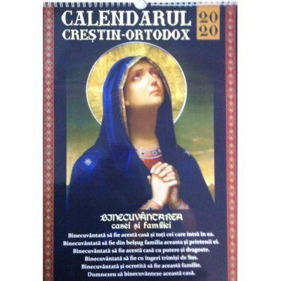 Calendar crestin ortodox 2020