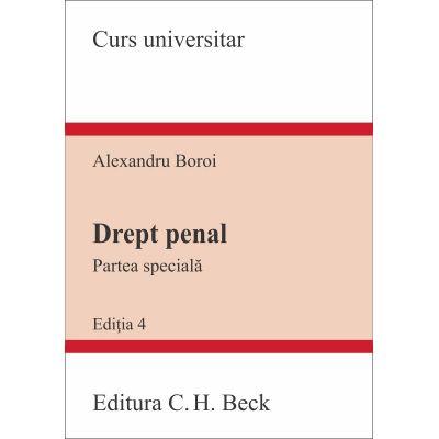 Drept penal. Partea specială - Alexandru Boroi (2019)